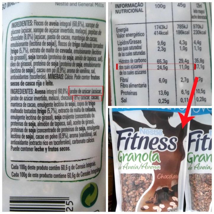 granola nestle es sana