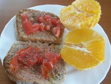 tomate y orégano