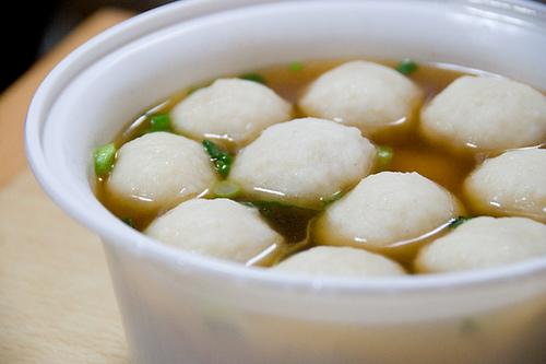 chinese fish balls bola de pescado china