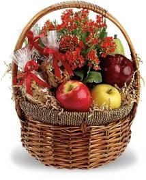 fruits and nuts gift gasket fruta y frutos secos